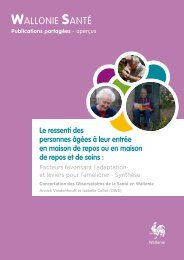 Résumé - Portail Action Sociale et Santé en Wallonie