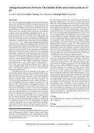 Anfängerhausarbeit im Zivilrecht: Übersinnliche Kräfte und ... - ZJS