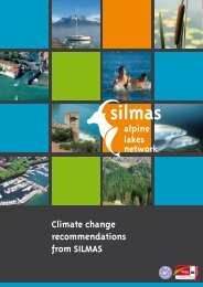 Climate change recommendations from SILMAS - Alpine Space ...