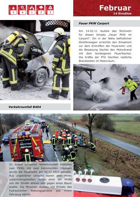 Jahresbericht - Freiwillige Feuerwehr Geesthacht