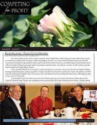 Texas Tech University Issue XXVI : April 2011 ROGER HALDENBY ...