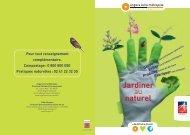 Guide Jardiner au naturel - Angers Loire Métropole