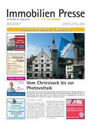 Vom Chriesisack bis zur Photovoltaik - Zuger Presse