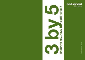 3 by 5 - ActionAid