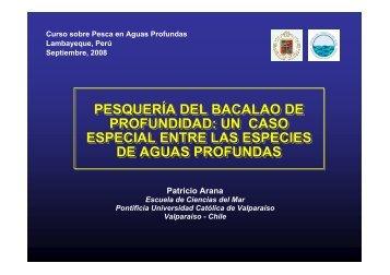 PESQUERÍA DEL BACALAO DE PROFUNDIDAD: UN ... - Imarpe