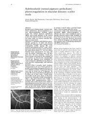 Subthreshold (retinal pigment epithelium) photocoagulation in ...