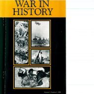 Page 1 Page 2 WAR IN HISTORY EDITORS HEW STRACHAN ...