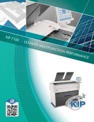 KIP 7100 - ULTIMATE MULTIFUNCTION PERFORMANCE