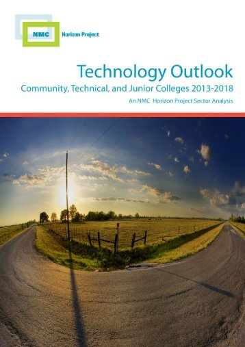 Technology Outlook for Community, Technical, and Junior Colleges