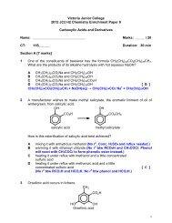 Victoria Junior College 2012 JC2 H2 Chemistry ... - ASKnLearn