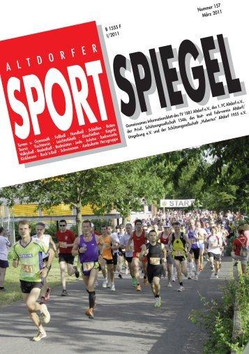 sport spiegel - TV 1881 Altdorf eV
