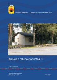 XIII kaup.osa - Kokkola