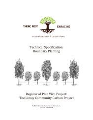 The Limay Community Carbon Project - Plan Vivo