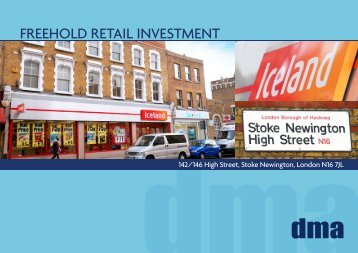 FREEHOLD RETAIL INVESTMENT - Propex