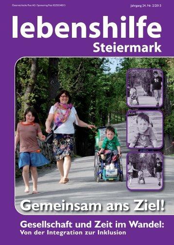 Nr. 2/2013 - Lebenshilfe Steiermark