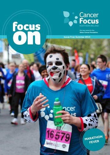 Marathon fever - Cancer Focus Northern Ireland