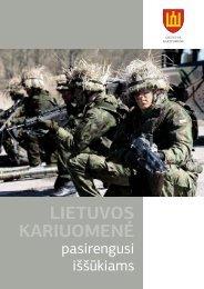 Lietuvos kariuomene_vidus SPAUDAI.indd - Krašto apsaugos ...