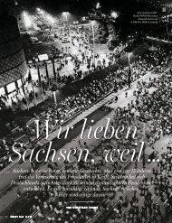 Sachsen hat eine lange, bewegte Geschichte ... - Christian Fuchs