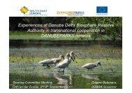 Review DANUBEPARKS by Danube Delta Biosphere Reserve
