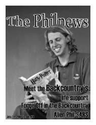 PhilNews #8 - Philmont Scout Ranch