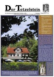 Tezelzeitung Nr.12 - Im Braunschweiger Land