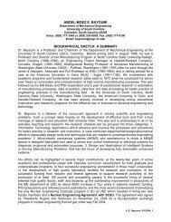 Bayoumi CV June 1 2004.pdf - Mechanical Engineering - University ...