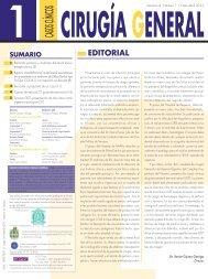 Casos Clínicos de Cirugía General. Volumen 4. Número 1