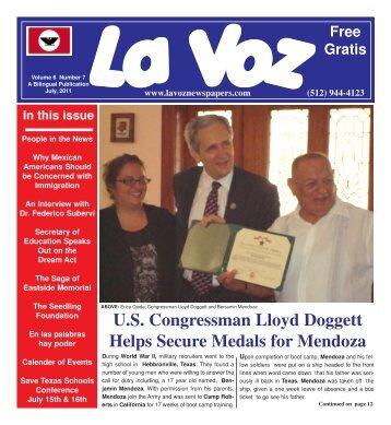 La Voz de Austin July, 2011abc.pmd - La Voz Newspapers