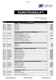 EUROTRUSS/LIFT