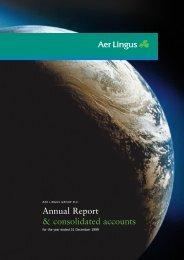 Annual Report 1999 in PDF - Aer Lingus