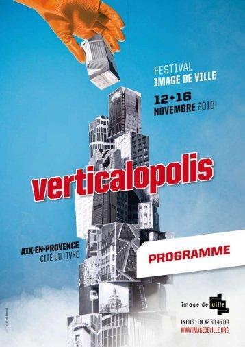 festival image de ville 12>16 nov. 2010 - Aix-en-Provence