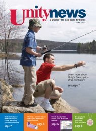 Issue 3, 2007 - Unity Health Insurance