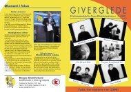 Giverglede nr 2 - 2001 - Norges Blindeforbund