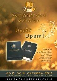 Svetopisemski maraton 2011 - Katoliška cerkev v Sloveniji