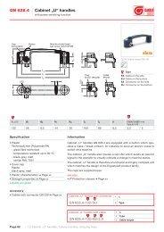 Standard sheet GN 628.4 PDF - Ganter