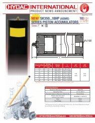 NEW! SK350...18HP (ASME) SERIES PISTON ... - HYDAC USA