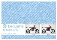 (09-2009) WR-WR USA 250/2010 WR-WR USA 300 ... - Husqvarna