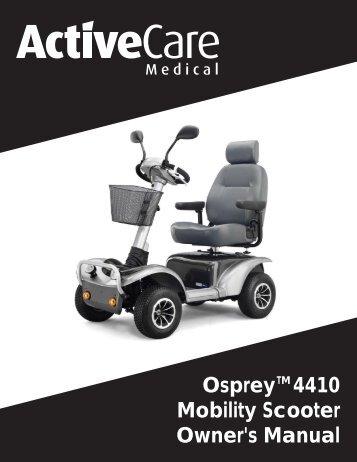 scooter service manual live document pdf central mobility rh yumpu com Walmart Handicap Scooter Walmart Handicap Scooter