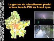 La gestion du ruissellement pluvial urbain dans le PLU du ... - teddif