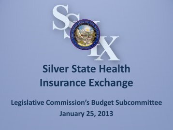 Legislative Commision's Budget Subcommittee - January 25, 2013