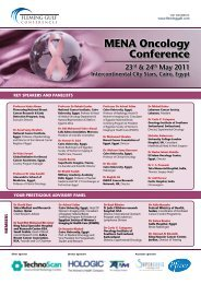 Mena oncology Conference - Science Development Network