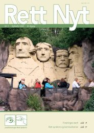 Nr. 3 · September 2008 · 20. årgang - Landsforeningen Rett Syndrom