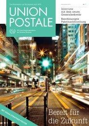 Bereit für die Zukunft - UPU - Universal Postal Union