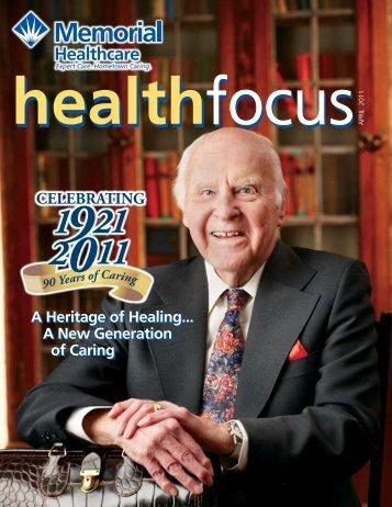 20 free Magazines from MEMORIALHEALTHCARE ORG