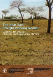 The Near East Drought Planning Manual - UN-Water Activity ...