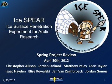 Ice SPEAR