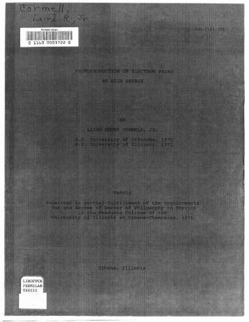 j - Fermilab Information Resources Department