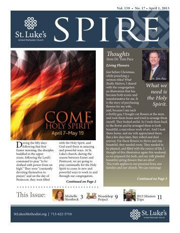 Download Issue - St. Luke's United Methodist Church