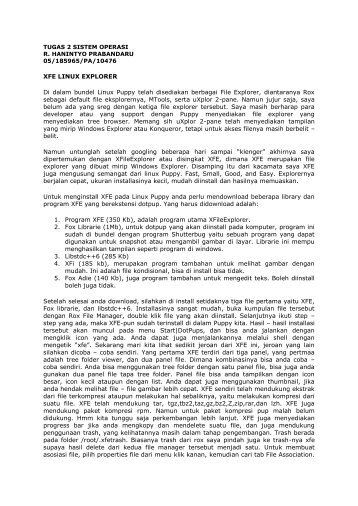 TUGAS 2 SISTEM OPERASI R. HANINTYO ... - kontak ugm