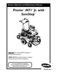 Pronto® M71™Jr. with SureStep®